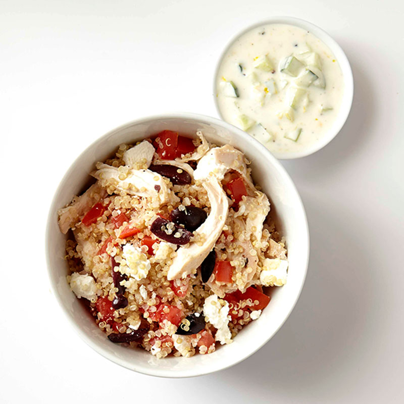 Photo of Mediterranean Quinoa Bowl  by WW